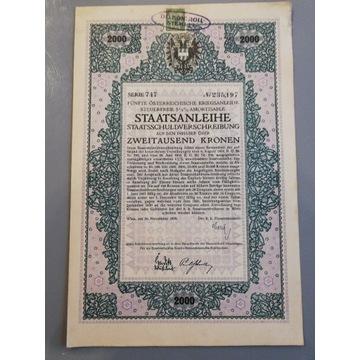 Piąta austriacka pożyczka wojenna