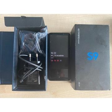 Samsung S9 Stan BDB. Wszystkie akcesoria.