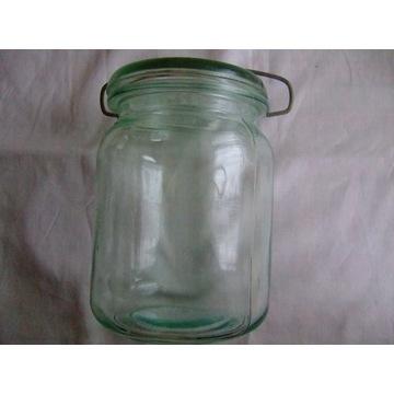 Słoik weki weck 1,2 litra z pokrywką sprężyną PRL