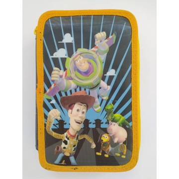 Piórnik Toy Story Disney 2 komory, 2 poziomy