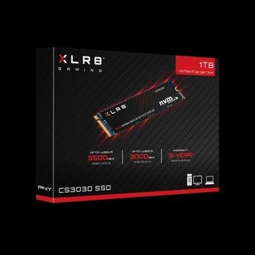 Dysk 1TB SSD PNY CS3030 NVMe M.2 XLR8 OKAZJA !