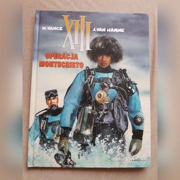 XIII 16 Operacja Montecristo komiks