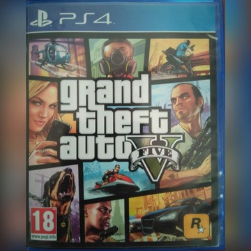 GTA V Grand Theft Auto 5 PL na PS4 Playstation 4