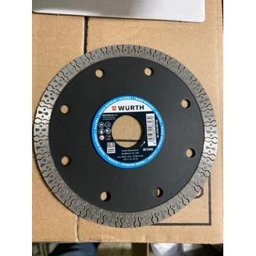 WURTH Tarcza 125mm grubość diament 1,4 mm