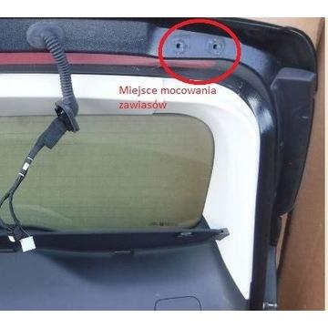 Zawiasy - 2 szt - klapy kombi Mondeo MK5