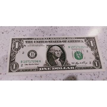 1 Dolar  USA 2006r B UNC