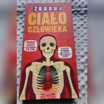 Zbuduj ciało człowieka - NOWA książka + szkielet