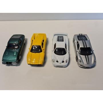 BBurago - Kolekcja 4 modeli samochodów Ferrari