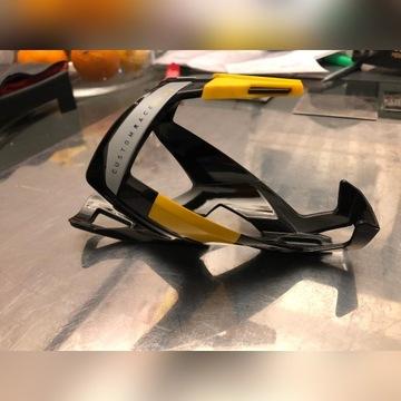 Koszyk na bidon Elite Custom Race czarno - żółty