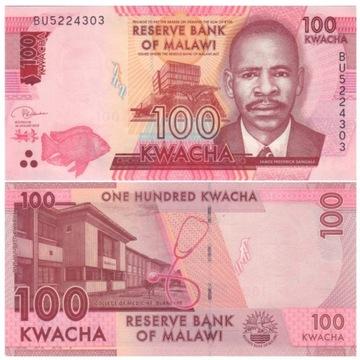 MALAWI 100 KWACHA 2019 P65d UNC