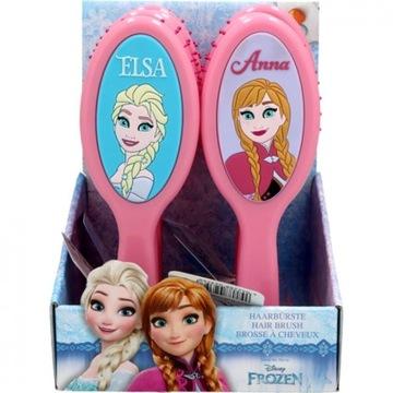 Szczotka do włosów Disney Frozen  Anna i Elsa