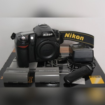 Nikon D80, dwie baterie, wężyk spustowy POLECAM