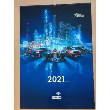 Kalendarz na nowy rok 2021 - Robert Kubica