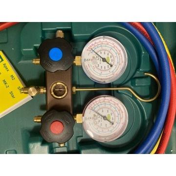 Nowe Manometry REFCO zestaw R32 R410A R407C klima
