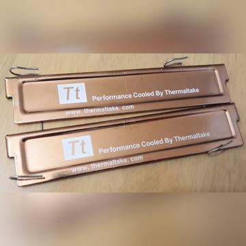 Chłodzenie radiator Thermaltake miedziany RAM DDR