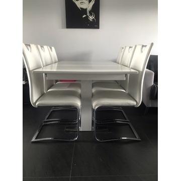 Duży stół do jadalni i 6 krzesel