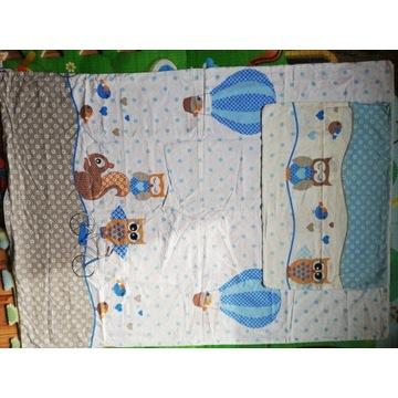 Poszewka na kołdrę i poduszkę do łóżeczka
