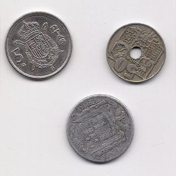 Monety hiszpańskie
