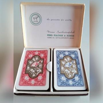 Karty MINI, Piatnik, dwie talie z opakowaniem