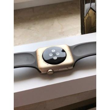 Apple watch s1 złoty