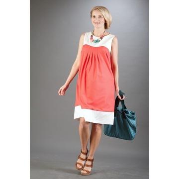 Bebefield Gabrielle Coral R.40 Sukienka ciążowa
