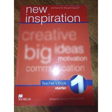 Książka Nauczyciela Angielski New Inspiration 1