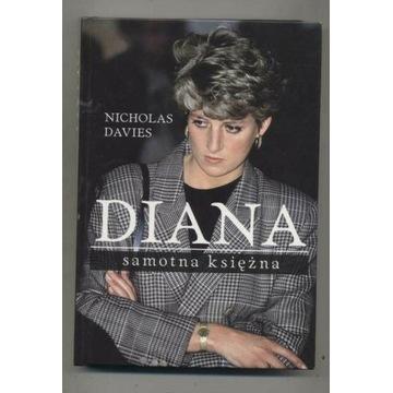 Diana,samotna księżna-Nicholas Davies