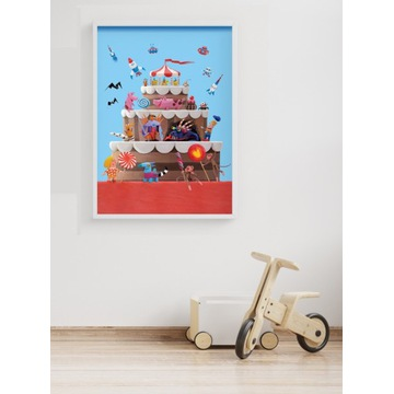 Plakat do pokoju dziecka 50 cm x 70 cm