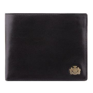 Męski portfel skórzany ARIZONA WITTCHEN czarny