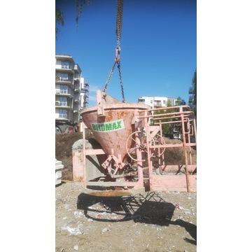 Pojemnik do betonu