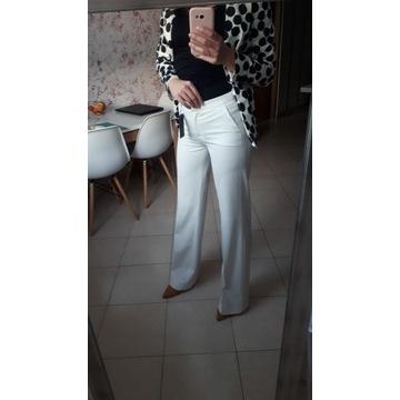 Szerokie spodnie Trussardi nowe z metką na kant