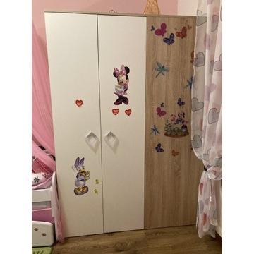 Garderoba szafa dziecięca oświetlenie LED
