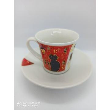 Filiżanka ręcznie malowana espresso