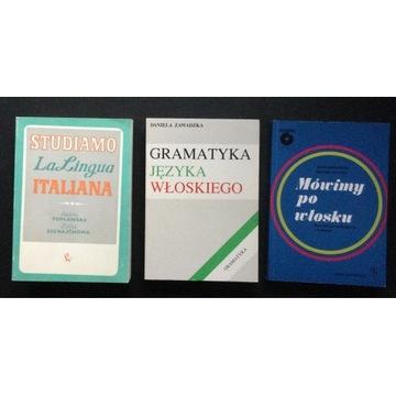 JĘZYK WŁOSKI - podręczniki , gramatyka