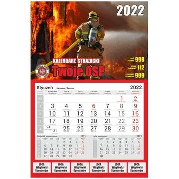 Kalendarze strażackie 2022 - 100 sztuk