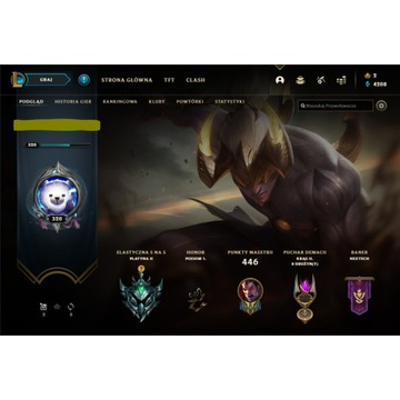 LEAGUE OF LEGENDS CH: 124 S: 80   PLATYNA 2!!!