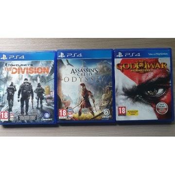 Zestaw gier PS4 + GRATIS