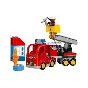 -= LEGO DUPLO 10592 - WÓZ STRAŻACKI =-