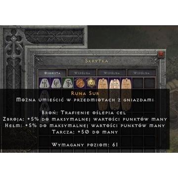 Runa Sur - Diablo 2: Resurrected SC PC NL