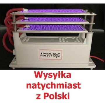 Generator ozonu 15g/h ozonator 230V