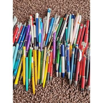 Długopisy 78 sztuk