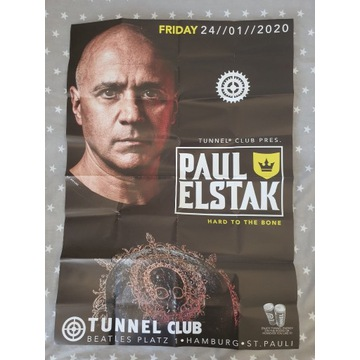 Tunnel Trance Force|Plakat Paul Elstak|Tunnel Club