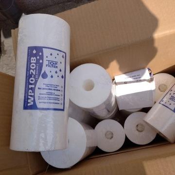 15 szt. filtrów BIG BLUE WP10-20B 10 cali 20mikron