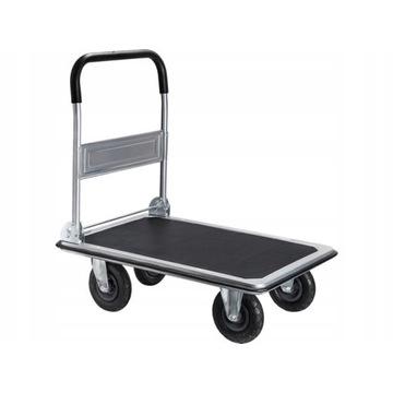 Wózek transportowy pompowane koła- udźwig do 350kg