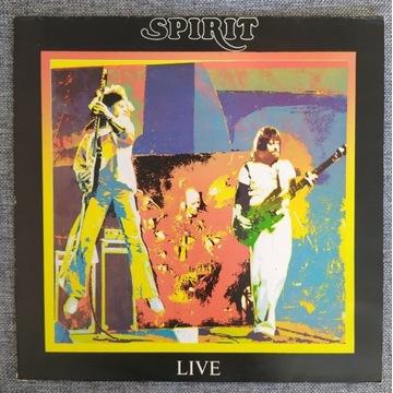 SPIRIT LIVE winyl UK