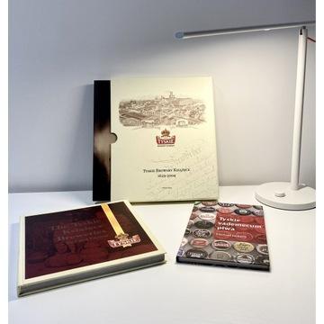 Zestaw 3 książek TYSKIE BROWARY KSIĄŻĘCE PL i ENG