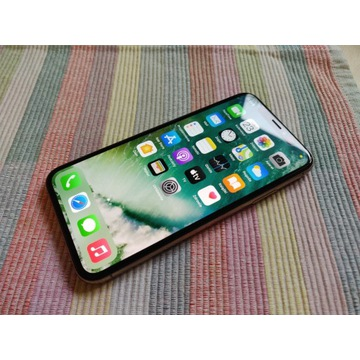 + JAK NOWY iPhone XS 64GB Gold- Komplet z ORANGE +