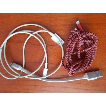Przewody USB-lighthing-iPhone