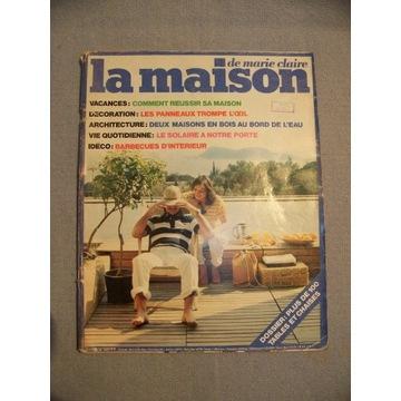 """""""La maison"""" lata 70/80,  8 egzemplarzy"""