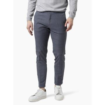 """Drykorn Męskie spodnie """"Mad"""" 34/32 niebiesko-szare"""
